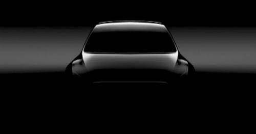 Tesla Model Y Teaser M