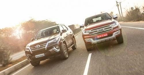 Toyota Fortuner Vs Ford Endeavour