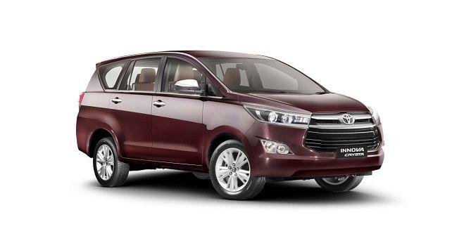 Toyota Innova Crysta BS VI