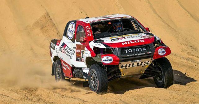 Dakar 2020 Stage 10 Fernando Alonso Toyota Gazoo Racing