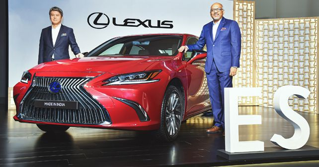 Lexus India begins local assembly, India-made ES 300h Exquisite launched at Rs 51.9 lakh