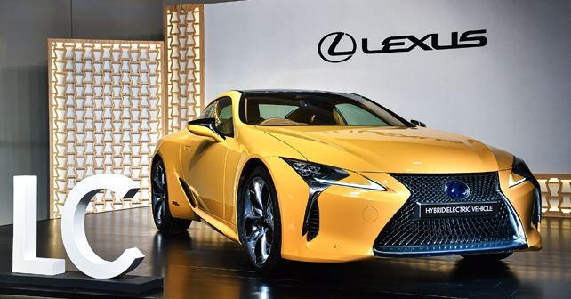 Lexus LC 500h launched at Rs 1.96 crore