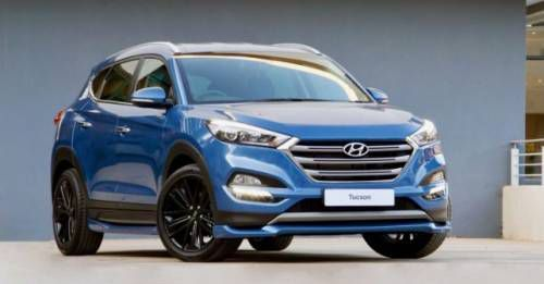 Hyundai Tucson Front Three Quarter