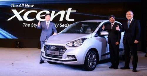 Hyundai Xcent Facelift M