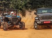 Jeep Wrangler & Polaris RZR XP 4 Turbo - Photos