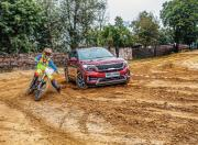 kia seltos vs dirt bike