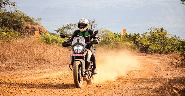 Ktm 390 Adventure In Action Trail Riding