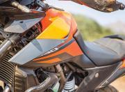 ktm 390 adventure review details fuel tank