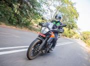 ktm 390 adventure review in action highway