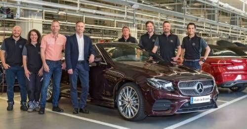 Mercedes E Cabriolet Production Begins