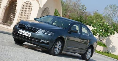 New 2017 Skoda Octavia Front Three Quarter