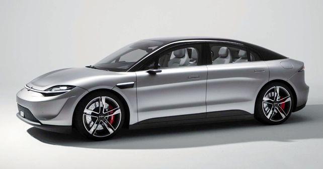 2020 Sony Vision S EV Concept