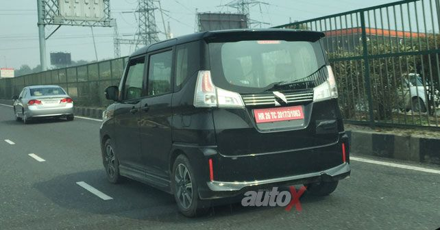 Suzuki Solio Bandit Spied In India