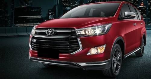 Toyota Innova Crysta Touring Sport India Launch M