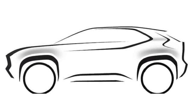 Toyota Yaris Based Compact SUV