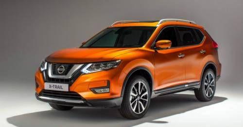 Updated Nissan X Trail