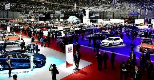 2016 Geneva Motor Show Floor