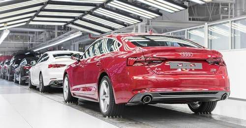 2017 Audi A5 Production