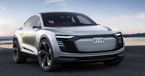 2017 Audi E Tron Sportback Concept M