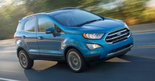 2017 Ford EcoSport Facelift Fromt Motion