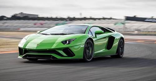 2017 Lamborghini Aventador S Front Motion