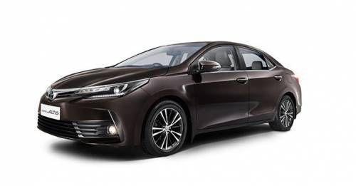 2017 Toyota Corolla Altis Facelift