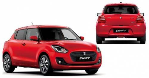 2017 Suzuki Swift Unveiled Geneva M