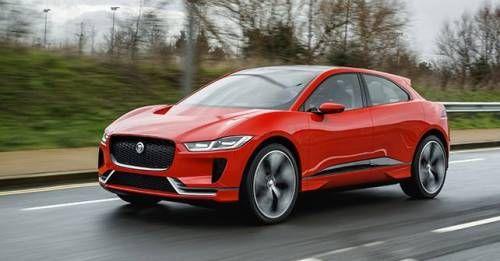 2018 Jaguar I Pace Concept Front
