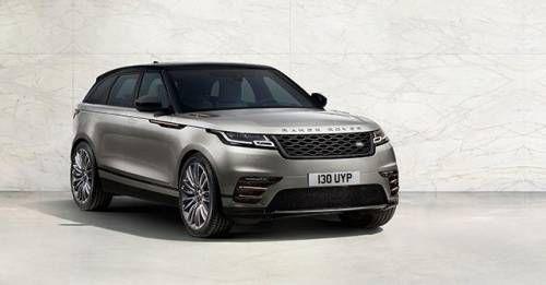 2018 Range Rover Velar Front