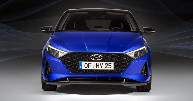 2020 Hyundai I20 Front Static