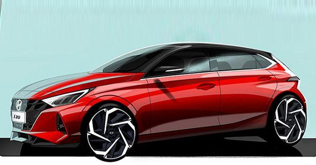 2020 Hyundai Elite I20 Sketches Released
