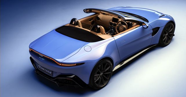 2021 Aston Martin Vantage Roadster Top View