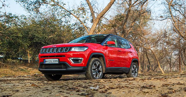 Jeep Compass Diesel Automatic Side Profile