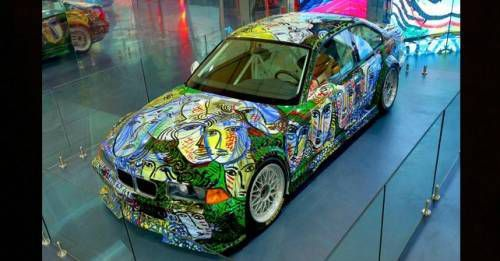 BMW 1992 M3 GTR Art Car