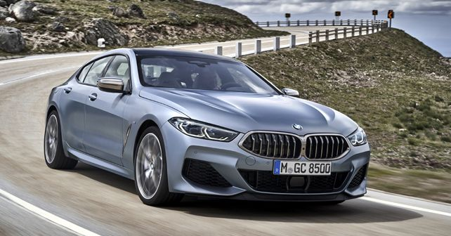 BMW 8 Series Gran Coup Listed On BMW India Website