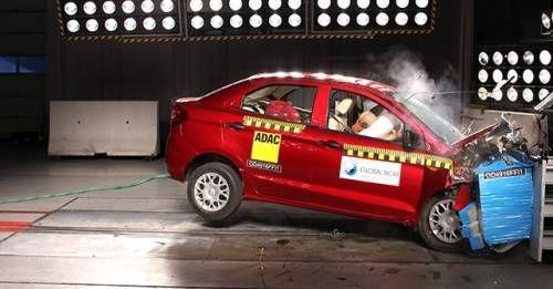 Ford FIgo Aspire NCAP Crash Test