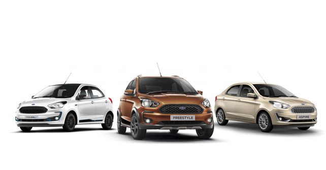 Ford Figo, Freestyle And Aspire BS6 Range