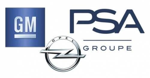 General Motors Opel PSA Group Logos M
