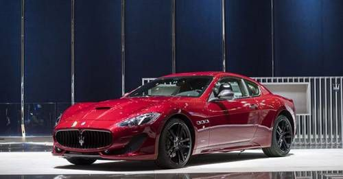 Geneva Motor Show 2017 Maserati GranTurismo Sport Special Edition