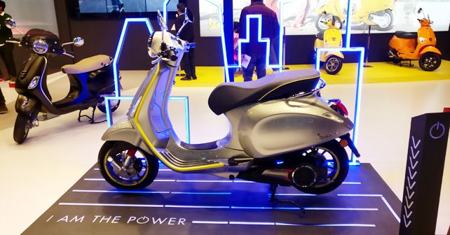 Vespa Elettrica makes India debut at Auto Expo 2020
