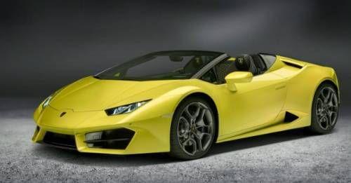 Lamborghini Huracan RWD Spyder 2017 M