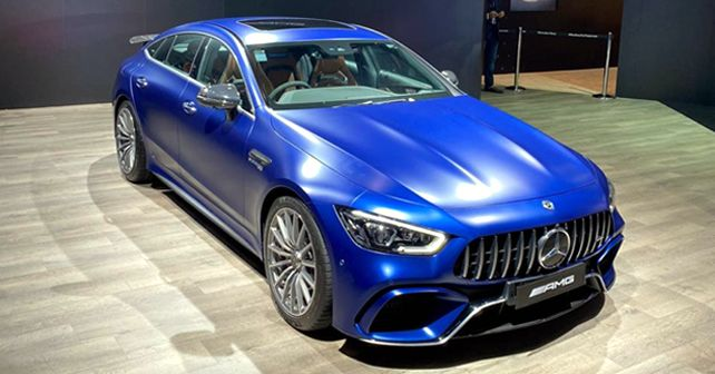 Mercedes AMG GT 63 S 4 Door Coupe Launched At Rs 2 42 Crore