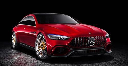 Mercedes AMG GT Concept Four Door Front