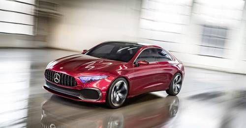 Mercedes Benz Concept A Sedan Front