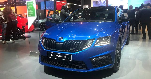 Octavia RS 245 Front