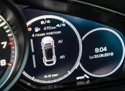 Porsche Cayenne Coupe driver infortmation