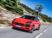 Porsche Cayenne Coupe image front motion