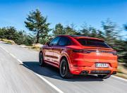 Porsche Cayenne Coupe image rear motion
