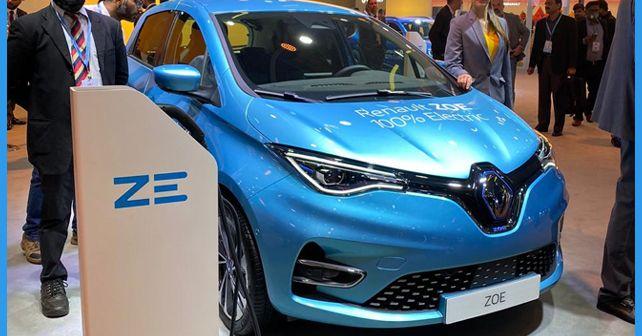Renault Zoe EV Auto Expo 2020