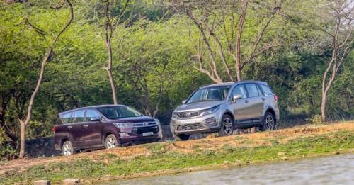 Tata Hexa Vs Toyota Innova Crysta Gal